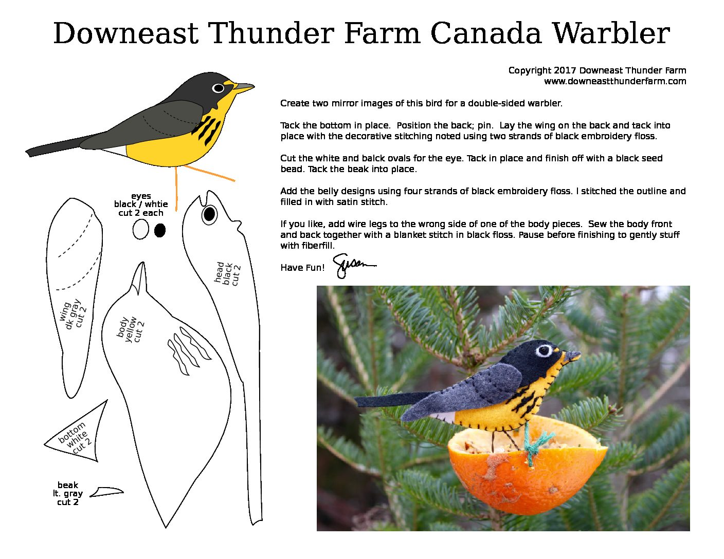 The Colorful Canada Warbler