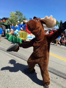 hannah dancing moose