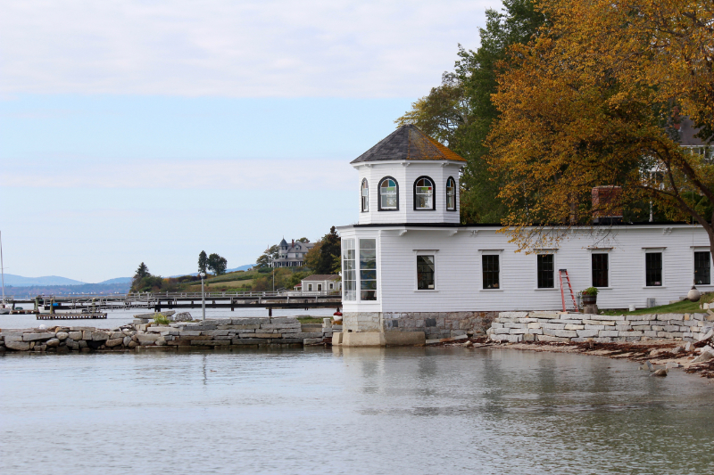 castine boat house