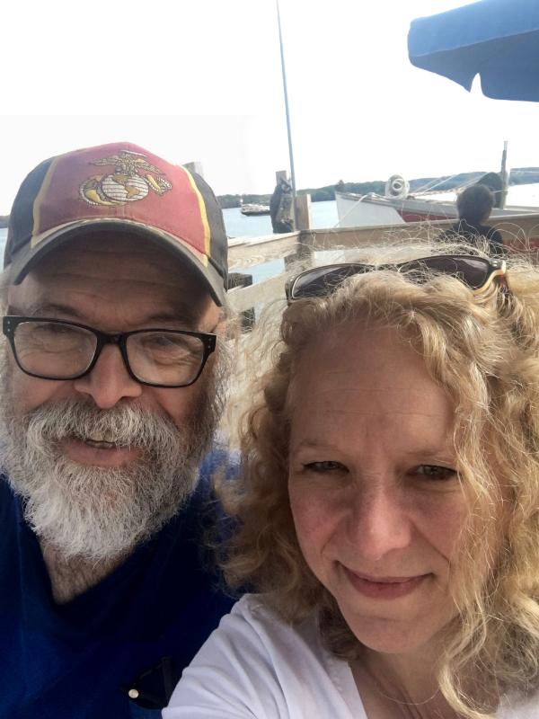 Paul and Susan at the Wharf