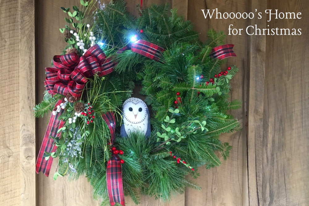 Whoooo's Home for Christmas