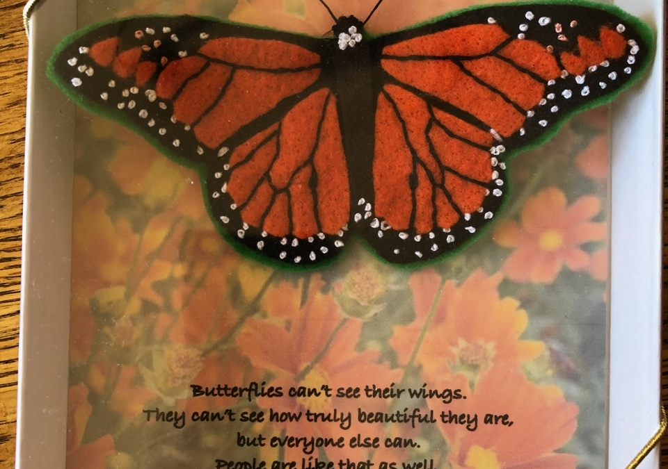 Monarch Butterfly Gift for Spring
